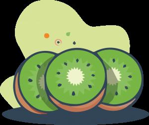 dibujo de kiwi