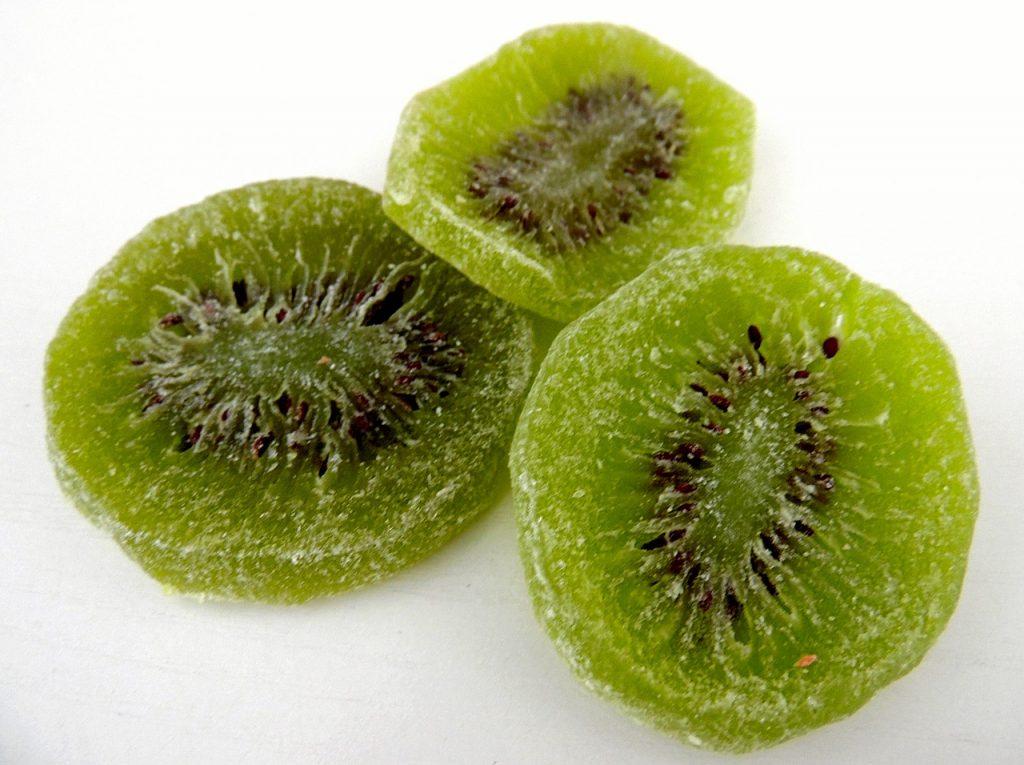 kiwi deshidratado como preparar