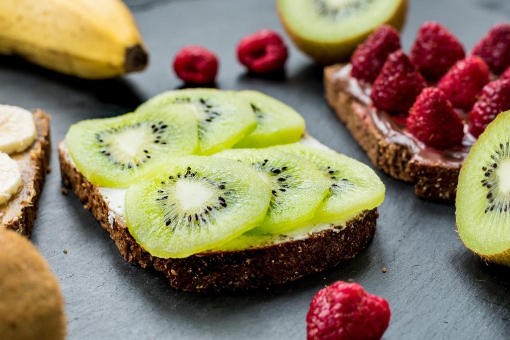 bocaditos de kiwi desayuno con kiwi
