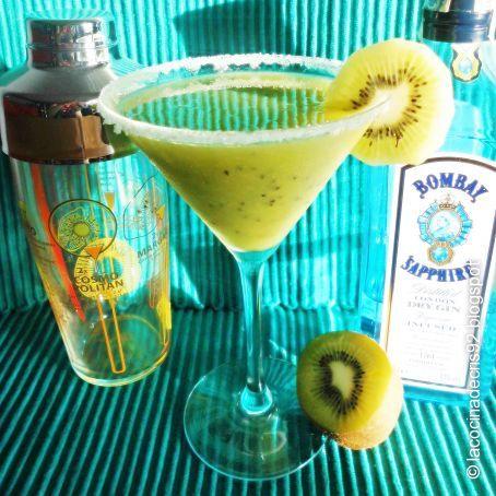 coctel kiwi, cocteles con kiwi, cóctel de kiwi, bebidas con kiwi