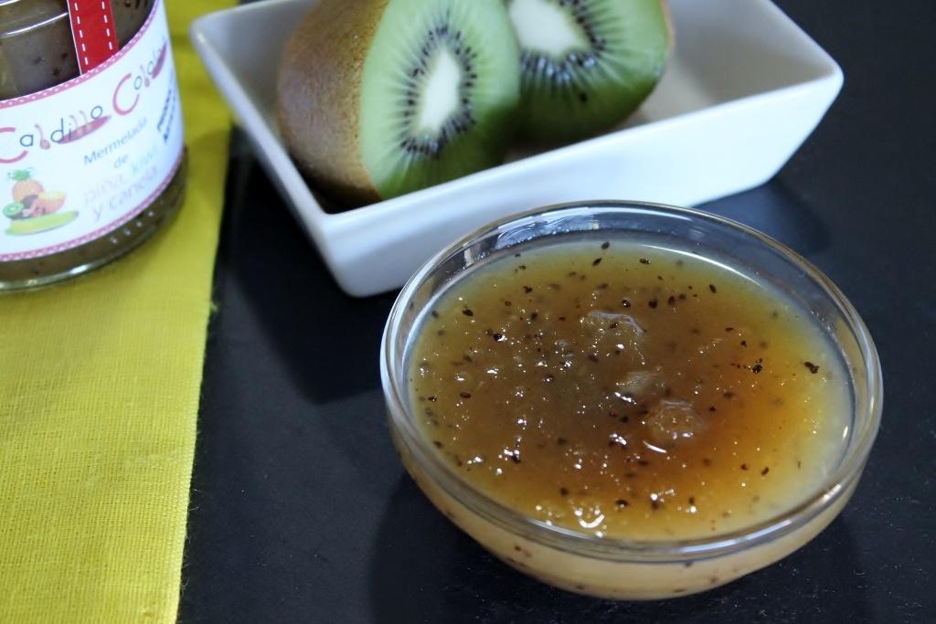 mermelada de kiwi y manzana